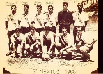 Club Deportivo Barrio México en 1968