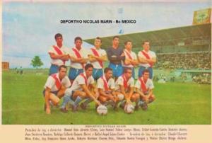 Equipo del Barrio México a principio de los 60´s con jugadores como Juan Gutiérrez, Didier