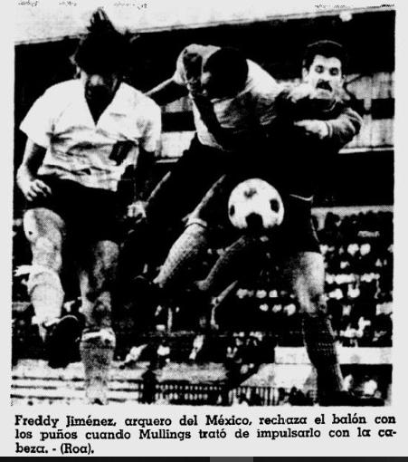 Mexico 2- Heredia 2 1971
