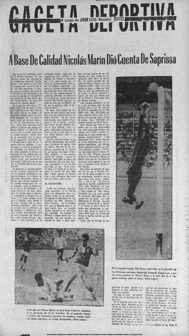 Nicolas Marìn 3-Saprissa 0