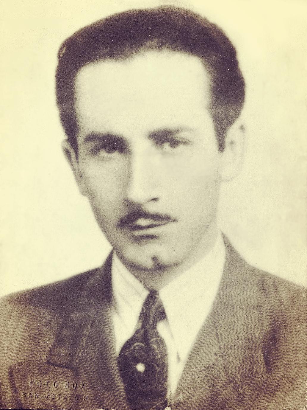 Nicolás Marín Conejo. Mártir en la Revolución de 1948. En homenaje