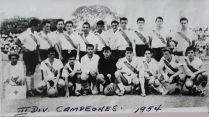 Campeones de Tercera División en 1954
